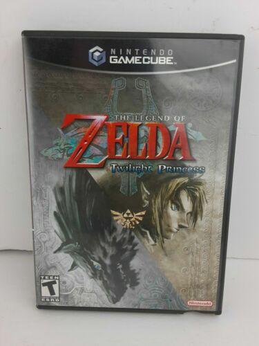 The Legend of Zelda Twilight Princess Nintendo GameCube CASE ONLY No Game!!!