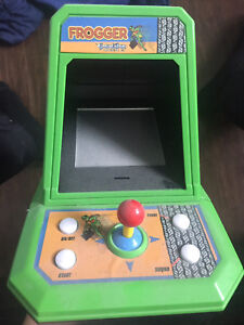 Antique Frogger Video Game