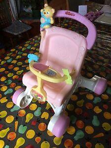 Trotteur poussette pour bébé
