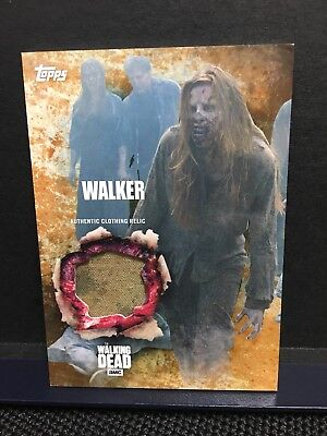 The Walking Dead Season 5 Walker Authentic Clothing Relic Card Rust 35  99 TOPPS ()