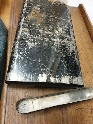 antique large document dead box TIN