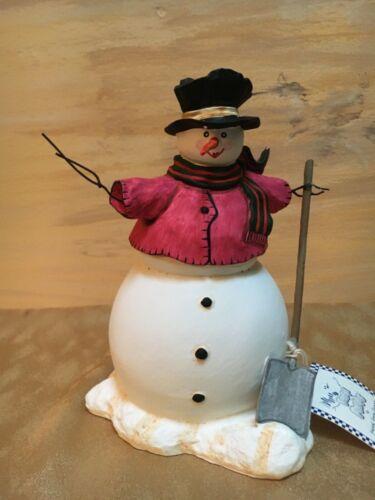 """Sandi Gore Evans """"Frosty Follies"""" Snowman"""