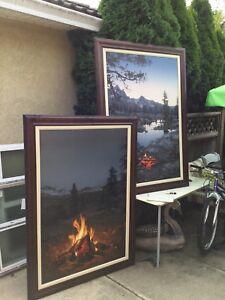 Stephen Lyman Mountain Campfire canvas