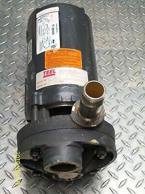 Teel 49913a Pump 12 Hp Dayton Motor 1-phase 9.6a
