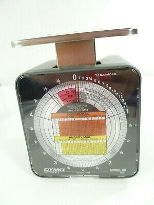 Dymo By Pelouze K5 5-lb Capacity Radial Dial Mechanical Package Scale In Box