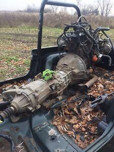 Jeep 4.0 drivetrain