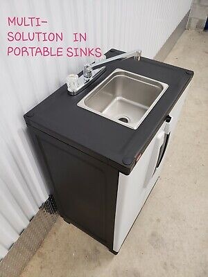 Portable Sink Mobile Handwash Self Contained Hot Water Concession110v