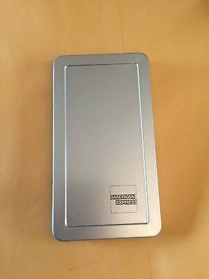 25 Amex Tip Trayscheck Presenter Receipt Holder Silver Free Fast Ship