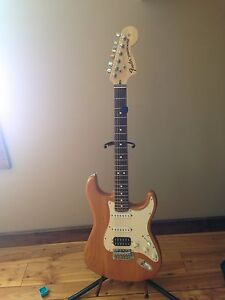 American made fender stratocaster electric guitar