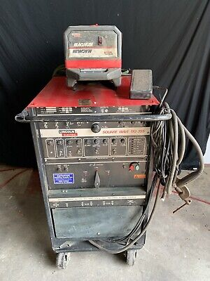 Lincoln Square Wave 355 Acdc Tig Welder With Magnum Cooler Cart Single Phase