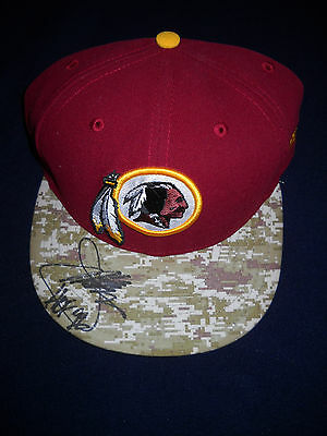 Joe Gibbs Autographed Washington Redskins New Salute to Heroes Fitted Hat/ JSA
