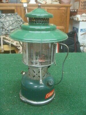 Details about  /Vintage Coleman Lantern 228D Nickel B-48 Amber Globe