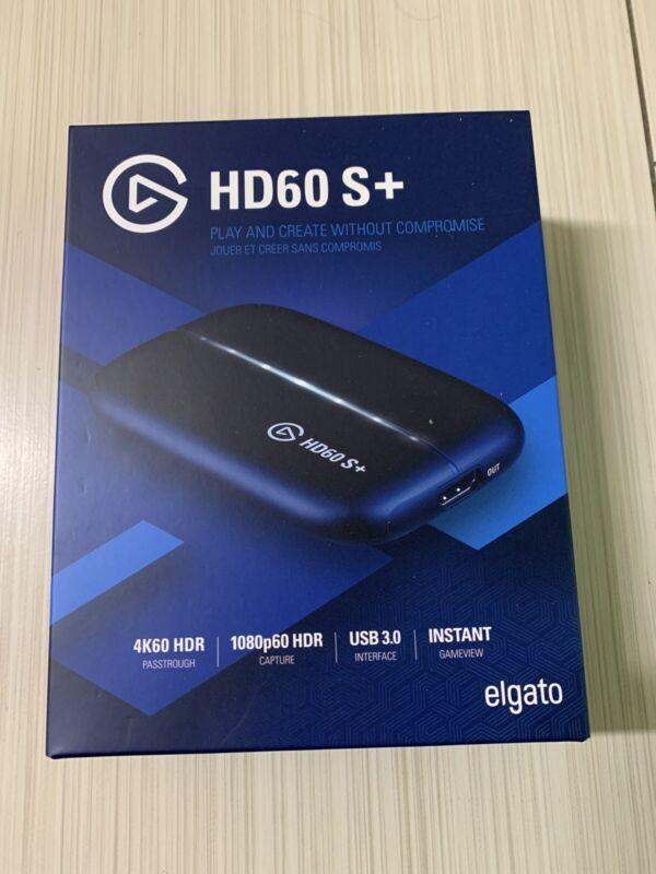 ✳️ NEW! ✳️  Elgato HD60 S+ PLUS Game Capture - Black ✳️ NEW! ✳️