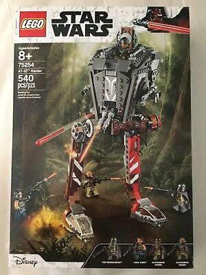 Lego Star Wars AT-ST Raider 75254 NEW UNOPENED BOX w/ 4 Mini-Figures! Disney TOY