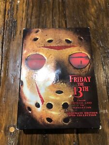 Friday the 13th Ultimate Edition Collection on DVD