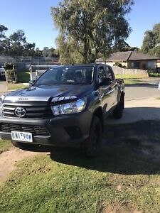 2018 Toyota Hilux Workmate 6 Sp Automatic Dual Cab Utility