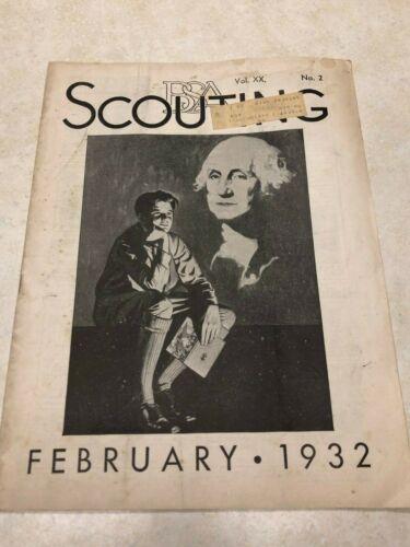 February 1932 Scouting Magazine