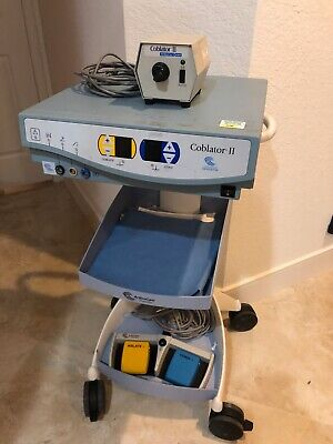 Arthrocare Corporation Coblator Ii 8000e With Flow Ctrl On Cart