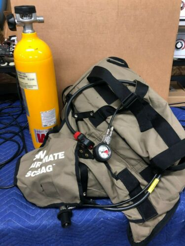 3M EMERGENCY AIR-MATE SCBAG 30 MIN SELF CONTAINED FNFP w/Tank