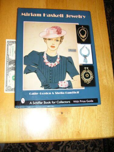 Miriam Haskell Jewelry Book By Cathy Gordon & Sheila Pamfiloff Hard Cover