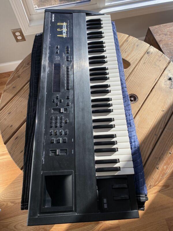 Ensoniq ASR10 ASR-10 Keyboard Synthesizer With Disks Vintage Rare sp1200 Sampler