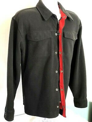 Men's Tommy Hilfiger Vented Fleece Black/Red Jacket. Excellent condition. Size L