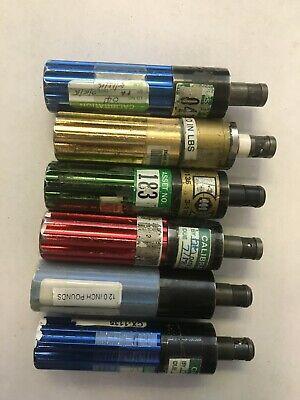 Mountz Metal Handle Torque Bit Driver Lot Of 6