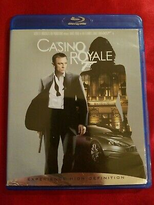 James Bond CASINO ROYALE 007 Blu-Ray DVD. Excellent Fast Shipping!