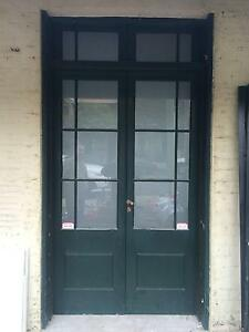Pair Solid Oak Glazed French Doors Woollahra Eastern Suburbs Preview