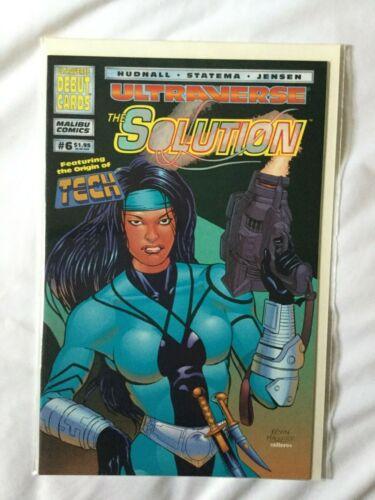 The Solution #6 (Malibu Comics)