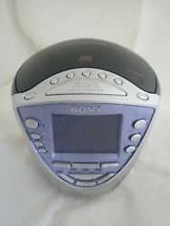 Sony Dream Machine ICF-CD853V CD R/RW player am/pm alarm clock
