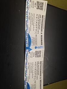 Method man tickets Success Cockburn Area Preview