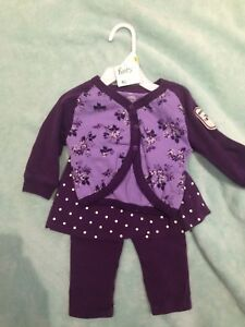 Baby Girls Roots Outfit