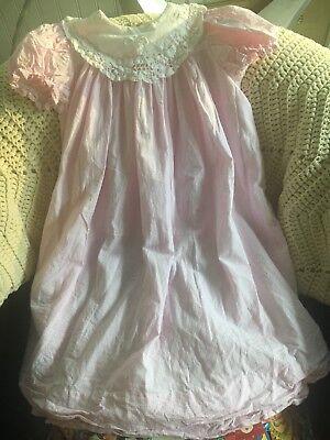 Little Girls Chabre Pink Check Bishop Dress 3T ()