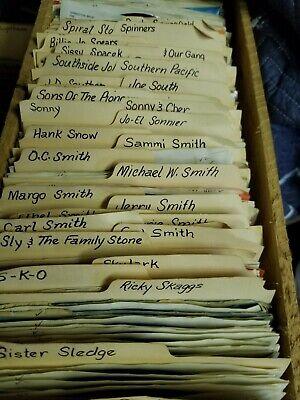 Lot of 100 ~ 45's Vinyl Records 7