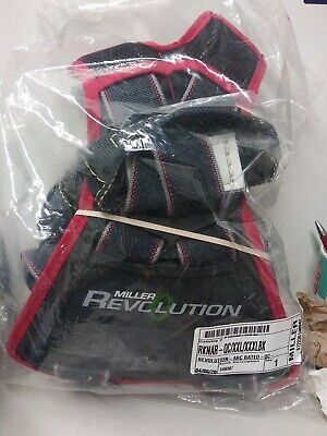 Miller Revolution Full Body Safety Harness With Quick Connectors Xxl - Xxxl New