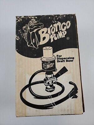 Bronco Pump For Dispensing Draft Beer Us Sankey Keg New In Box