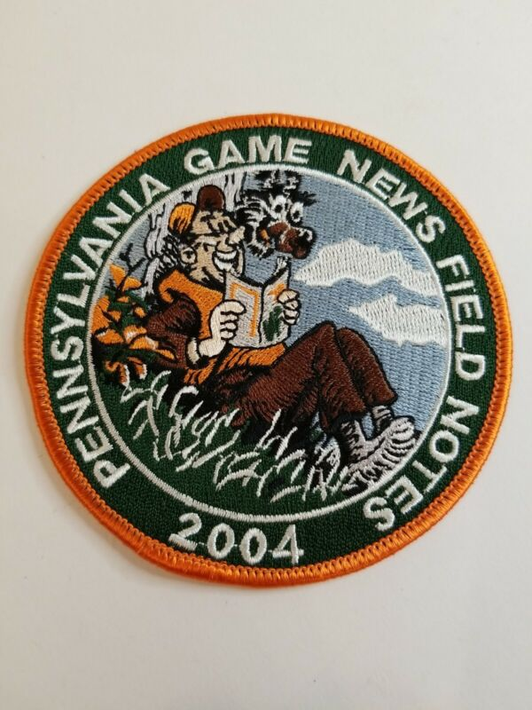 Pennsylvania Game News Field Notes Patch 2004