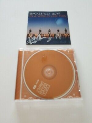 Usado, AUTOGRAPHED BACKSTREET BOYS In A World Like This CD Signed comprar usado  Enviando para Brazil