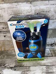 Discovery Kids Rocketship Projection Alarm Clock