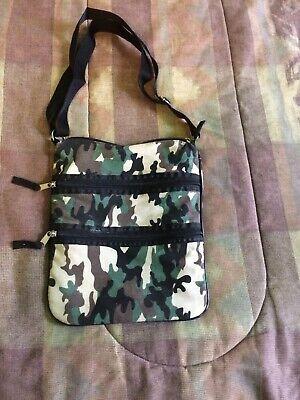 camouflage Shoulder Bag Only $9.99. Free Shipping !!! Camouflage Canvas Shoulder Bag