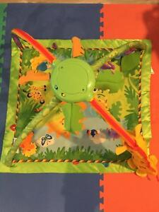 Fisher Price Rainforest Friends Deluxe Baby Play Gym