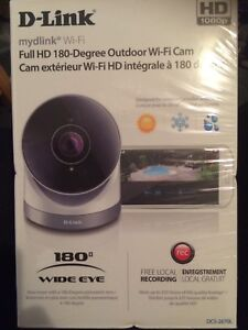 D-Link Full HD 180 degree outdoor wi-fi security camera