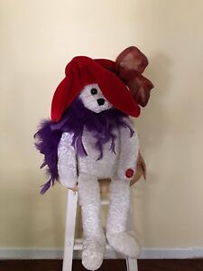 Red hat society bear for sale