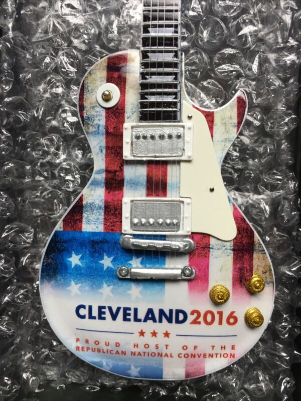 RNC New 2016 Republican National Convention Cleveland Guitar Rock & Roll Trump