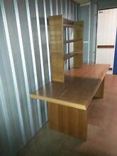 Desk - large with bookshelf Penrith Penrith Area Preview