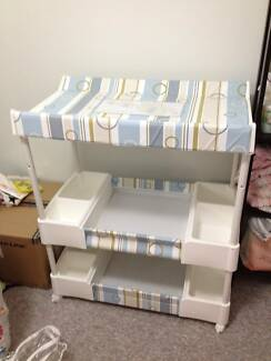 DELUXE Baby Bath and Change Table EXCELLENT condition Calamvale Brisbane South West Preview