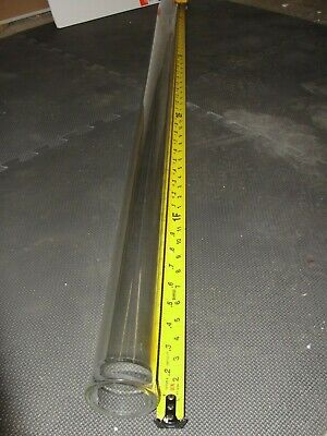Glass Process Pipe 2 48 Inch 50mm Beaded Pilot Plant Chromatography Column Tube