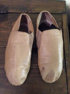 Leather nude jazz shoes Wavell Heights Brisbane North East Preview