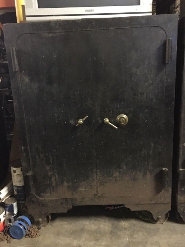 Antique Diabold Floor Safe